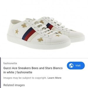 GUCCI Bianco Ace sneakers